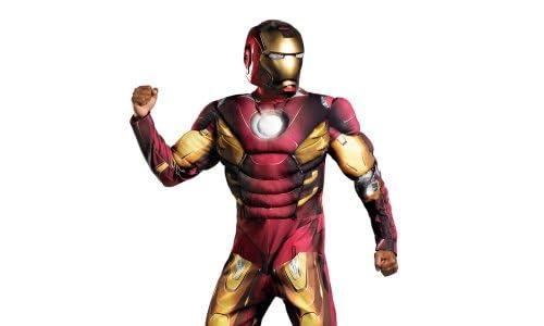 これであなたもアイアンマン!コスプレ☆クラシックコスチューム 映画アベンジャーズバージョン マーク7 Iron Man Mark VII Avengers【並行輸入品】 (X-Large(42-46))