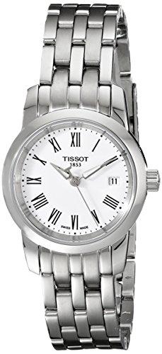 天梭 Tissot TIST0332101101300 梦幻白时尚石英女表图片