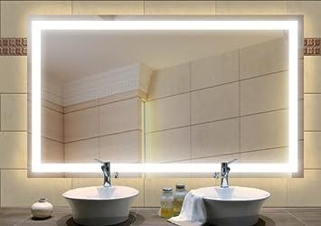 miroir clairage int gr int gr 1200x650 mm cuisine