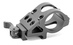 1 inch Picatinni Picatinny Offset Flashlight Ring Mount with QD Cam Lock