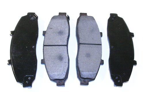 Prime Choice Auto Parts SMK679 New Front Semi Metallic Brake Pad Set