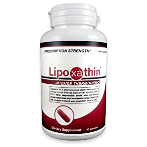 Lipoxathin Hardcore Thermogenic, Pharmaceutical Grade Rapid Weight Loss Diet Pill Supplement - Appetite Suppressant / Fat Burner / Energy Booster