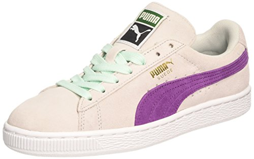 Puma Suede Classic Wn's - Zapatillas para mujer, glacier gray-grape juice 31, UK5, UK6, Glacier Gray/Grape Juice, 37