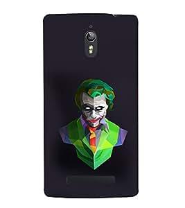 printtech Joker Vector Abstract Back Case Cover for Oppo Find 7