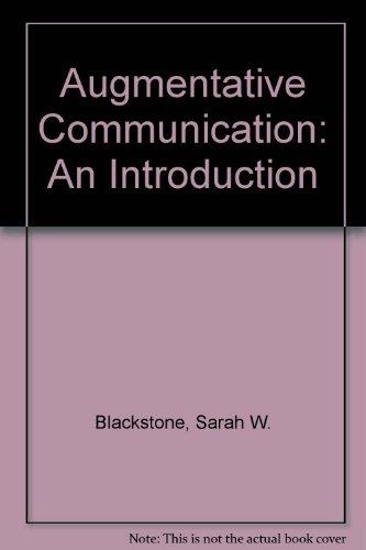Augmentative Communication: An Introduction