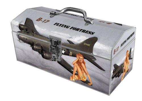 Sainty International 24-040 Art Deco Flying Fortress Tool Box