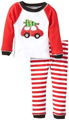 Car Baby Boy Christmas Pajamas by Mud Pie
