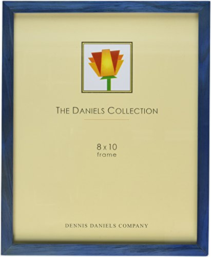 Dennis Daniels Gallery Woods Picture Frame, 8 x 10 Inches, Blue