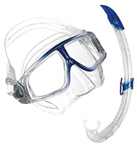 Aqua Lung Mask Water Diving Swimming Sport Sphera Lx Dive Mask/snorkel Snr Set