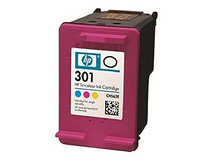 HP - 301 tri color ink cartridge (contenu = 4)