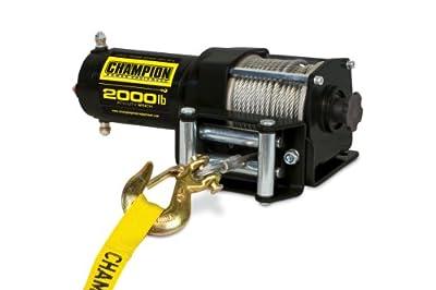 Champion Power Equipment 12003 Power Winch Kit - 2000 lb. Capacity