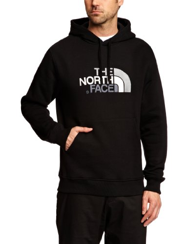 The Norh Face Drew Peak Felpa con Cappuccio, Nero, XL