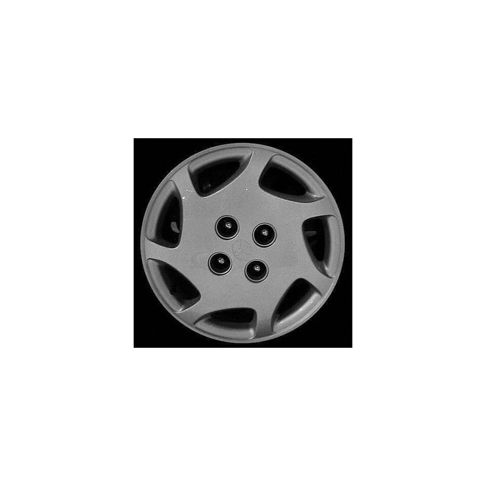98 00 TOYOTA COROLLA WHEEL COVER HUBCAP HUB CAP 14 INCH, 7 HOLE BRIGHT SILVER 14 inch (center not included) (1998 98 1999 99 2000 00) T261228 FWC61098U20