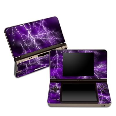 Apocalypse Violet Design Protective Decal Skin Sticker for Nintendo DSi XL Game Device