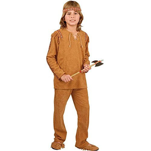 Child's Indian Boy Costume (Size:X-Small 4-6)