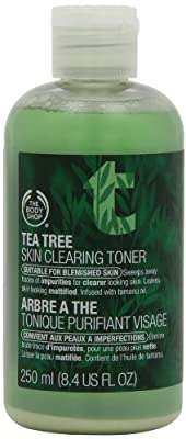 The Body Shop Tea Tree Skin Clearing Toner, 8.4-Fluid Ounce