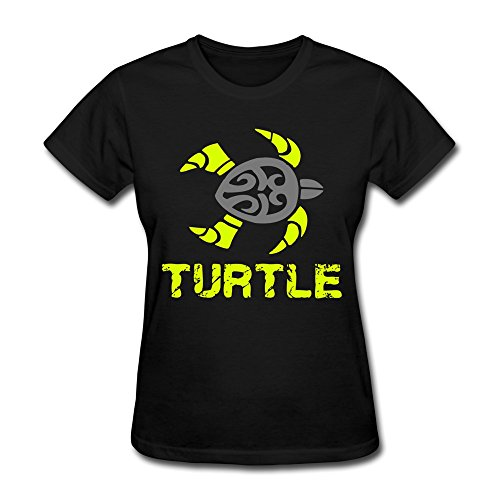 Ptcy Lady Tees Turtle Tribal Us Size Xxl Black front-580170