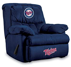 MLB Minnesota Twins Home Team Microfiber Recliner by Imperial