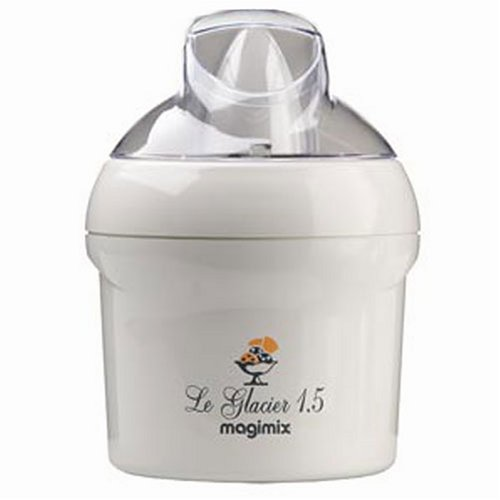 magimix le glacier 1 5 ltr ice cream maker by magimix ice cream machines. Black Bedroom Furniture Sets. Home Design Ideas