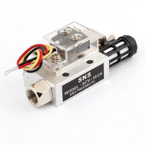 "Scv-10Ck 1Mm Nozzle Dia 1/8""Pt Female Thread Vacuum Ejector Generator front-622926"