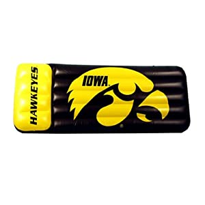 Buy Iowa Hawkeyes Pool Float Mattress by Team Sports America
