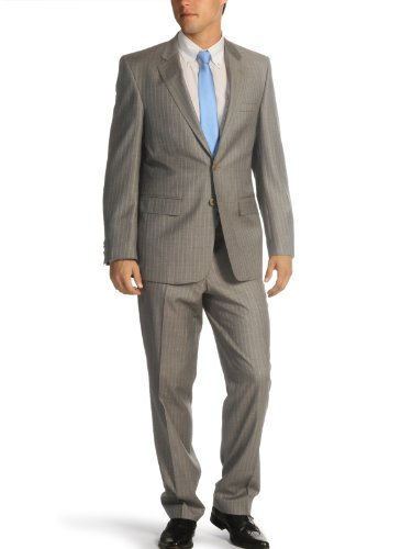 Mishumo Pinstripe Suit (UK: 42 / EU: 52, brown)