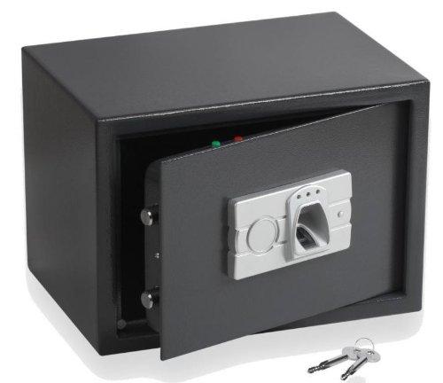 tresor safe mit elektronischem fingerprint schl ssel. Black Bedroom Furniture Sets. Home Design Ideas