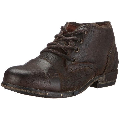 Yellow Cab CHOPPER M Combat Boots Mens Brown Braun (darkbrown) Size: 10 (44 EU)