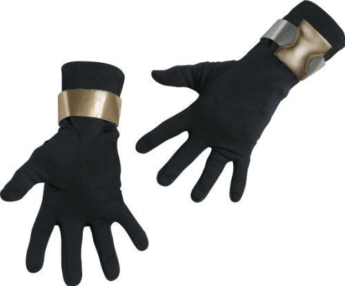 Boys Snake Eyes Deluxe Gloves(One Size-As Shown)