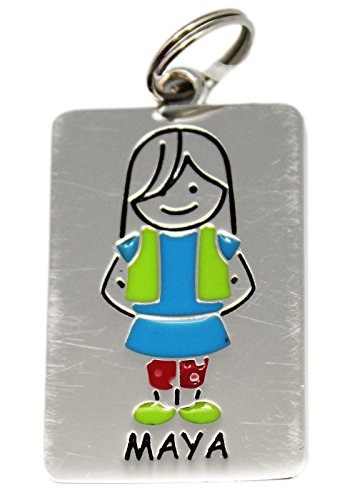 Ganz Kids Tag Charms - My Kids Keyring and Necklace - MAYA - 1