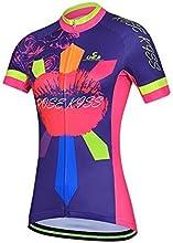 Baleaf Women39s Short Sleeve Cycling Jersey Rose Kiss Style Size S by Baleaf