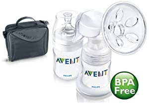 Philips AVENT BPA Free Manual On the Go Breast Pump (Discontinued by Manufacturer)