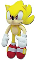 "Great Eastern Sonic the Hedgehog Plush-12"" Super Sonic (GE-8958)"