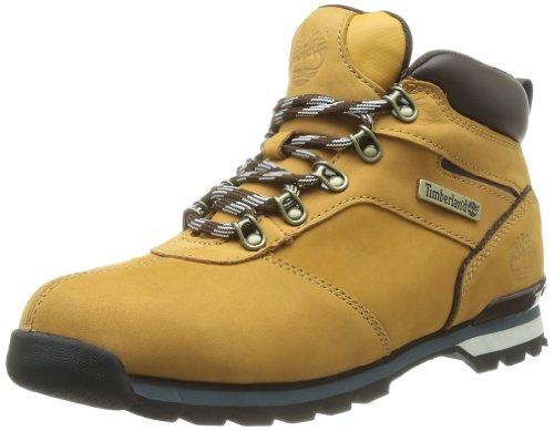 Timberland Men's Euro Hiker FTB_Splitrock 2 Boots Yellow Jaune - Gelb (Wheat Nubuck) 16