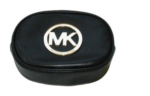 Michael Kors Fulton Cosmetic Black Leather