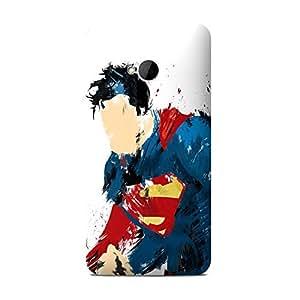 Retro Superman One M7 case