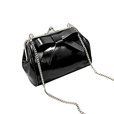 Lowpricenice(TM) Women Candy Color Mini Bag Small Shoulder Bags With Chain Bag Messenger Bags