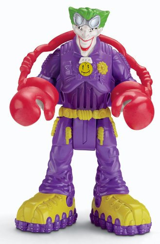 Fisher-Price Hero World DC Super Friends Voice Comm - The Joker (746775133689)