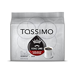 Tassimo King of Joe Dark Roast, 16-Count , 4.45 Oz