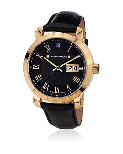 Chrono Diamond Uhr mit schweizer Quarzuhrwerk Man Nestorius 41 mm
