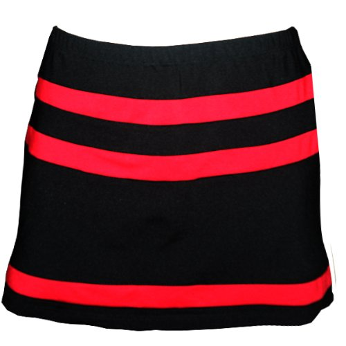 Horizontal Inset Tennis Skirt with Shorts