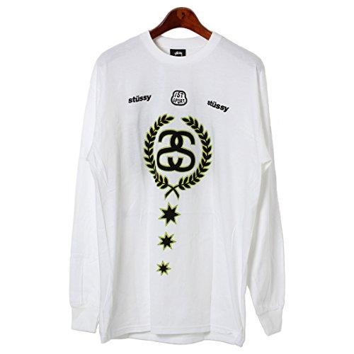 (ステューシー)STUSSY LS WORLDWIDE Tシャツ 1993624 メンズ 03.ホワイト L [並行輸入品]