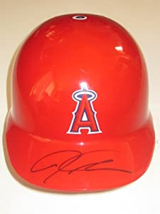 Josh Hamilton Autographed Signed Los Angeles Angels of Anaheim Full Size Batting... by Southwestconnection-Memorabilia