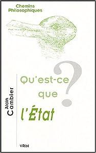 Qu 39 est ce que l 39 etat chemins philosophiques french ed - Qu est ce que l architecture ...