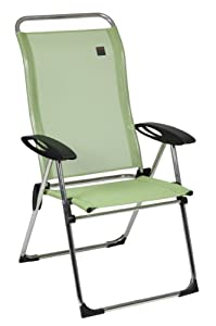 Amazon Com Lafuma Cham Elips Aluminum Folding Chair With