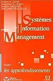 echange, troc Gordon B. Davis et alii - Systèmes d'information pour le management volume 2 Les approfondissements