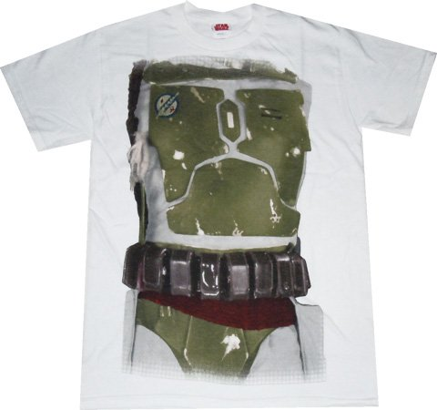 Star Wars: Boba Fett Costume White T Shirt