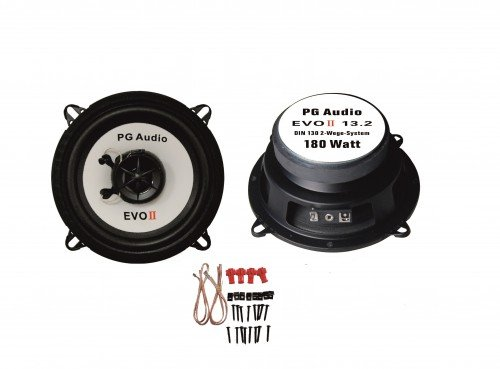 VW-Golf-II-Lautsprecher-Boxen-vorne-Tr-PG-Audio