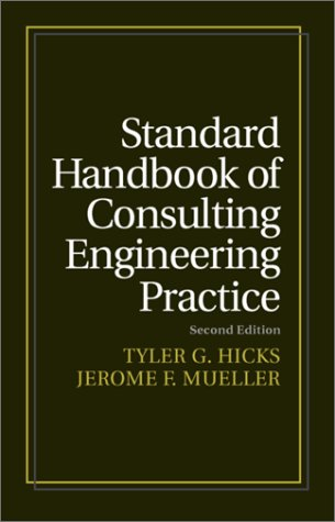 Standard Handbook of Consulting Engineering Practice PDF