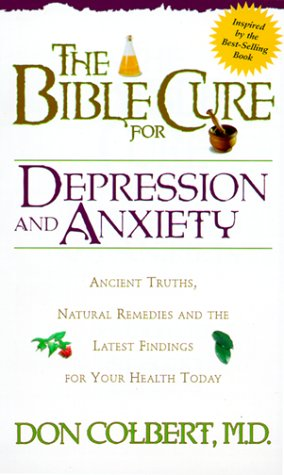 Bible Cure For Depression Anxiety New Bible Cure Siloam088419826X : image
